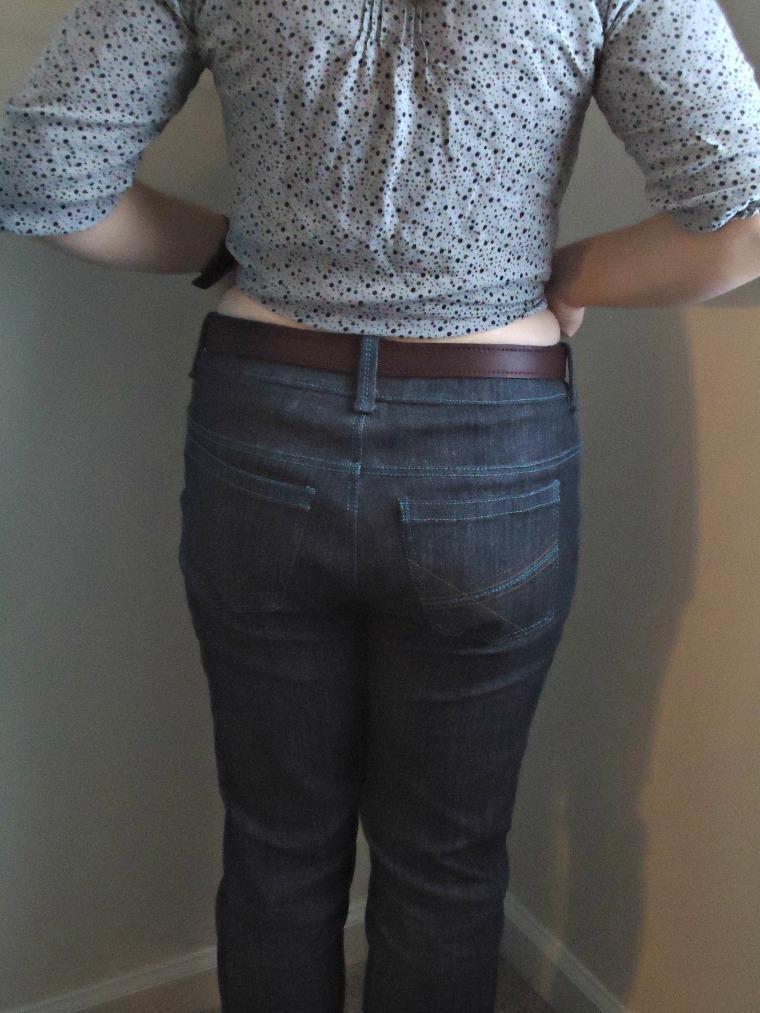 back butt