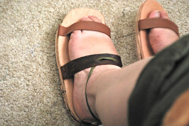 side foot